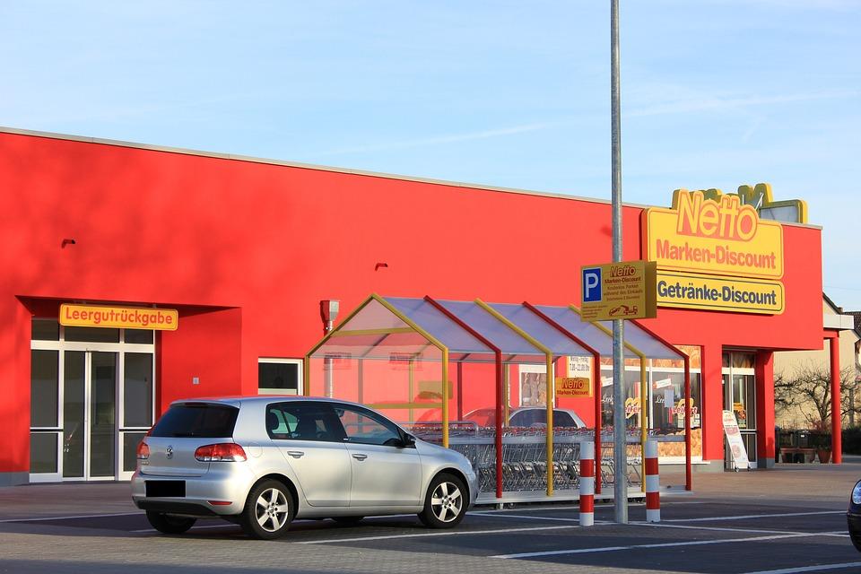 Supermarket, Discounter, Shopping, Shopping Centre, Net