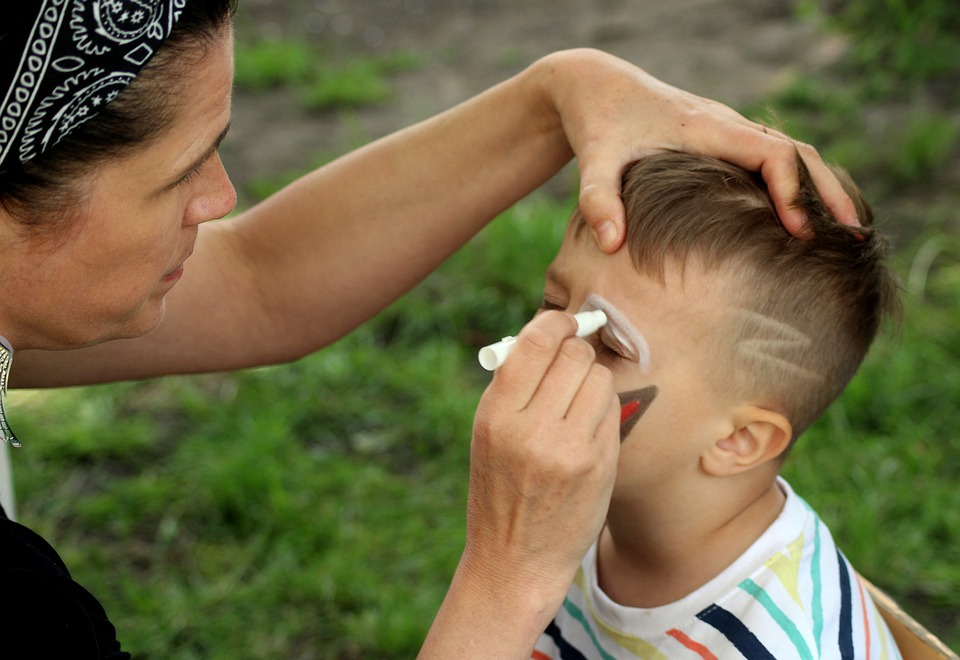 Face Painting, Fun, Face, Child, Makeup, Disguise