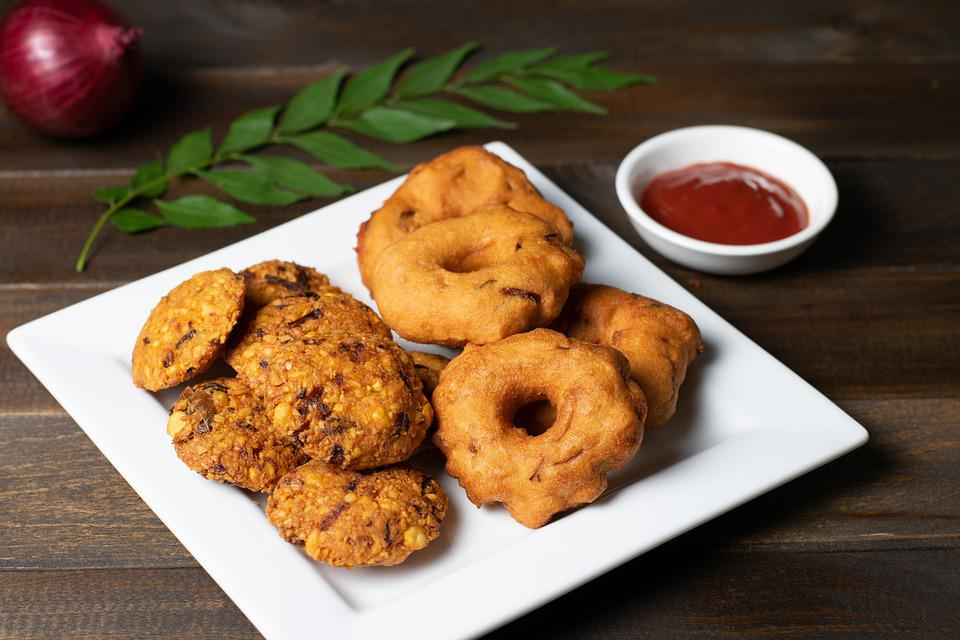 Parippu Vada, Food, Dish, Sri Lankan, Dal Vada