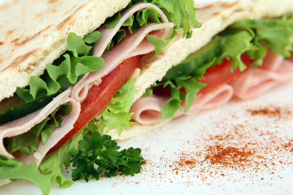 Sandwich, Appetizer, Food, Snack, Dish, Bread, Meat