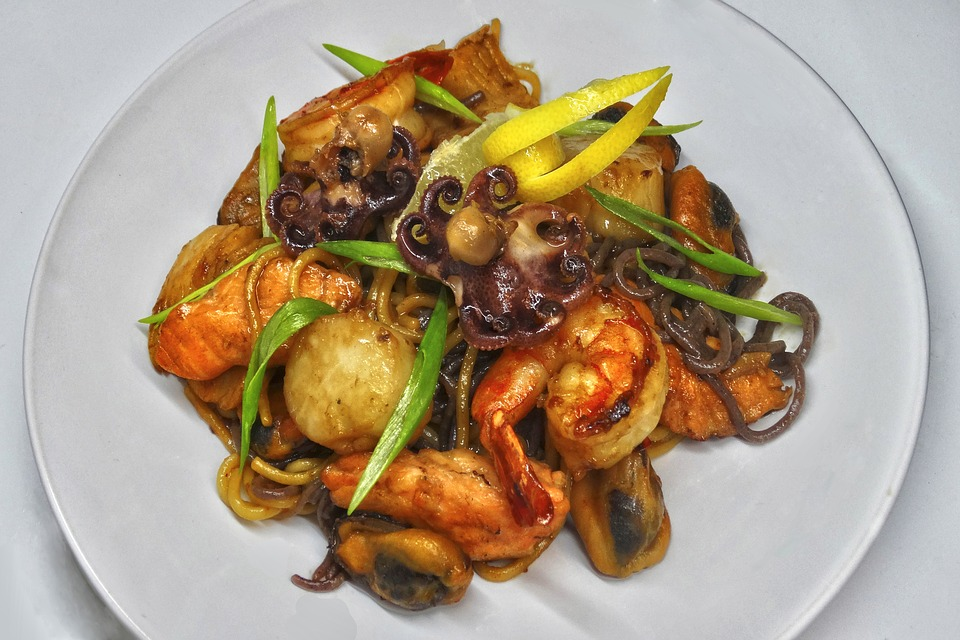 Food, Plate, Dish, Vegetable, Dinner, Epicurean