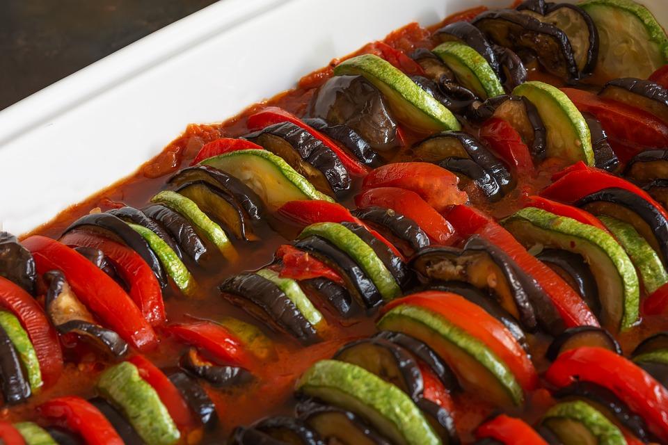 Ratatouille, Casserole, Dish, Provencal, Vegetable