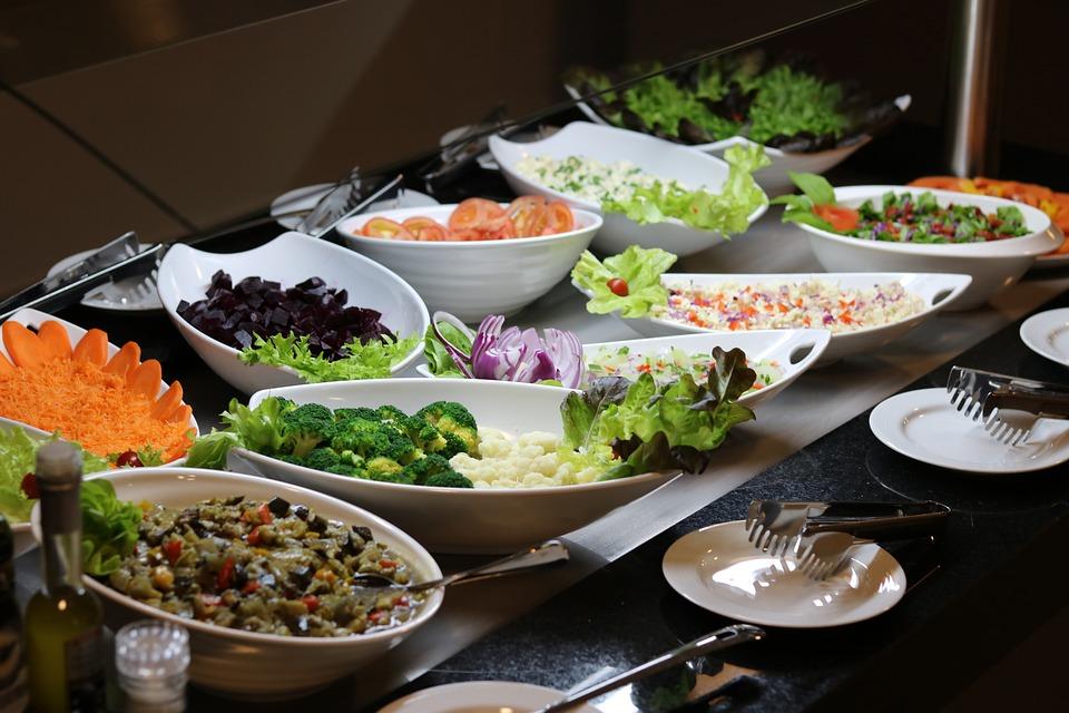 Salad, Restaurant, Food, Dish, Vegetables, Fresh