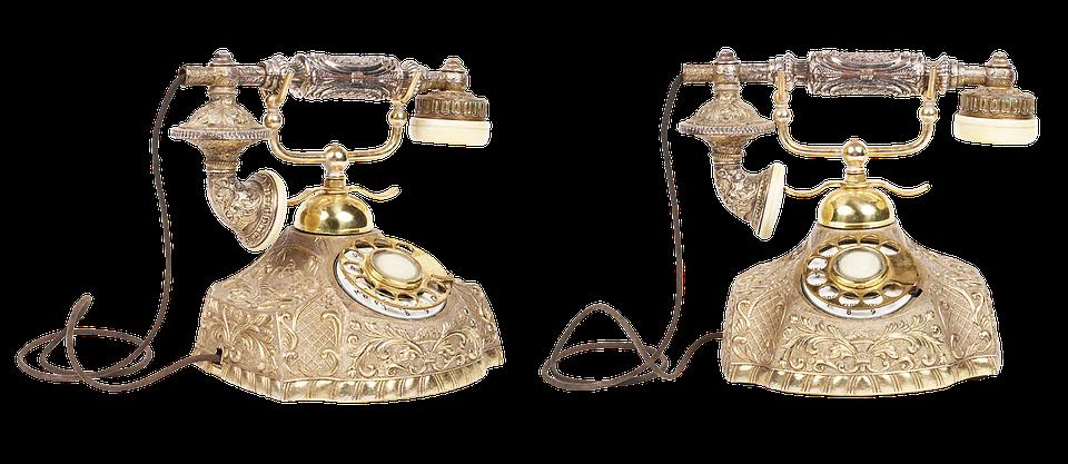 Vintage Telephone, Phone, Old, Call, Link, Disk
