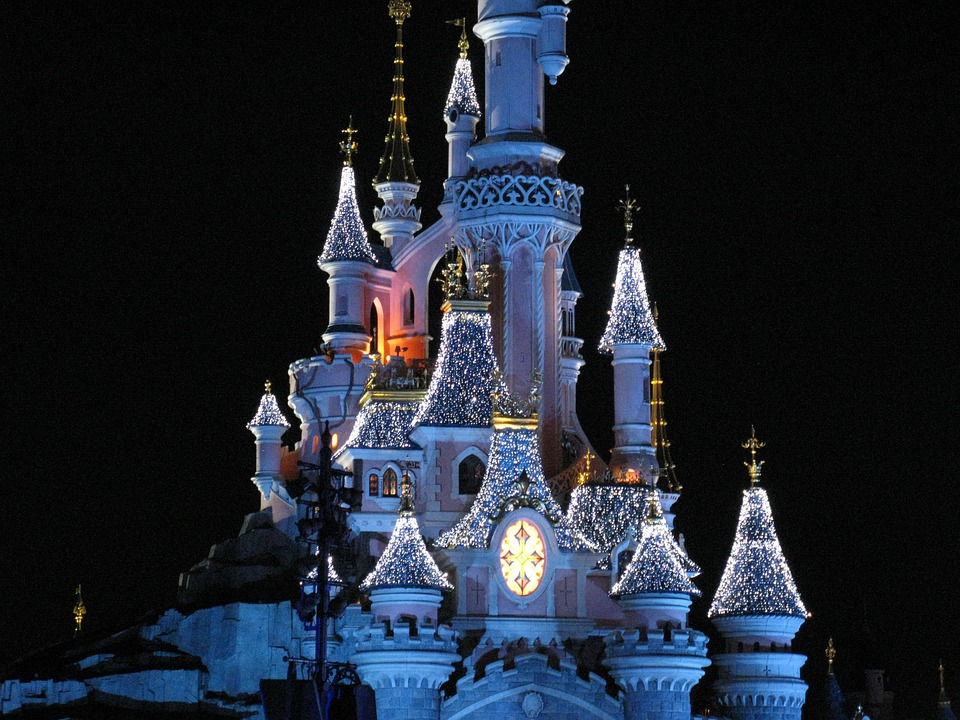 Disney Castle, Disneyland Paris, Magic Castle