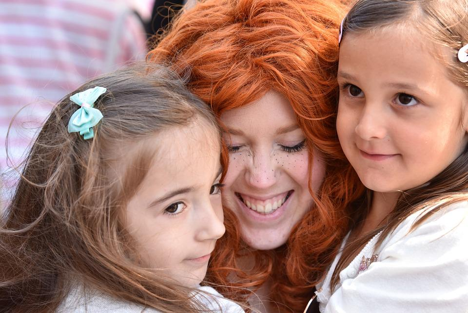 Children, Joy, Face, Disney, Dressed Up, Princess