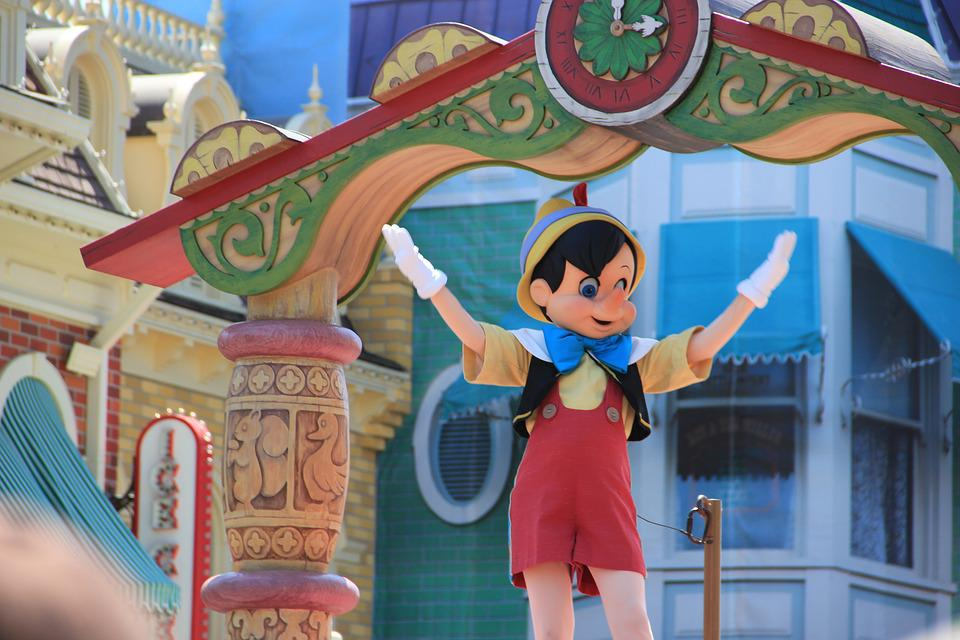 Pinocchio, Disney, Parade, Character