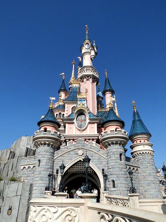 Disneyland, Sleeping Beauty, Castle, Paris