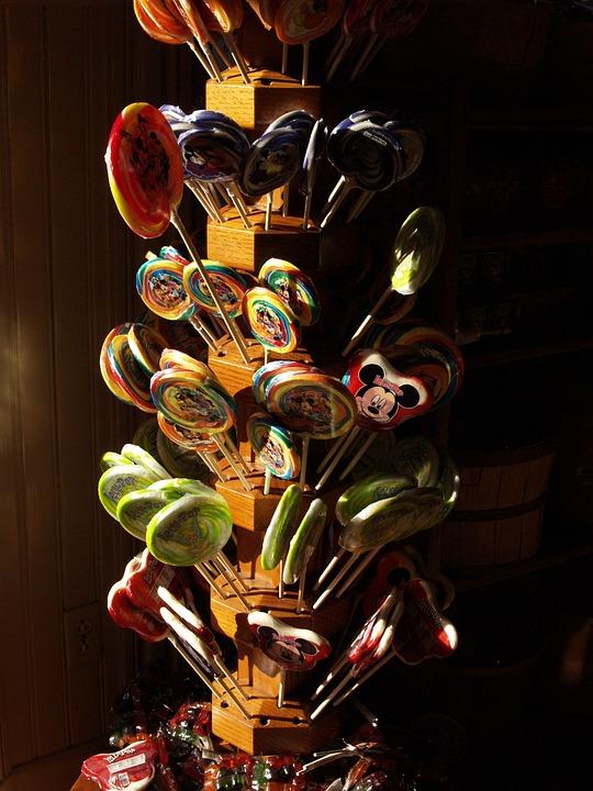 Sweet, Candy, Disneyland, Lollipop, For Kids