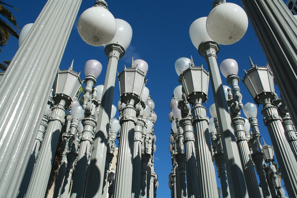 Lacma, Los Angeles, Museum, Display, Architectural