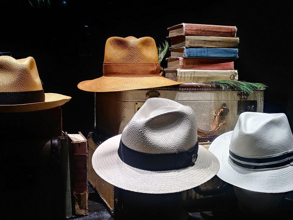 Men's Hats, Fedora, Fashion, Display, Retail, Clothing