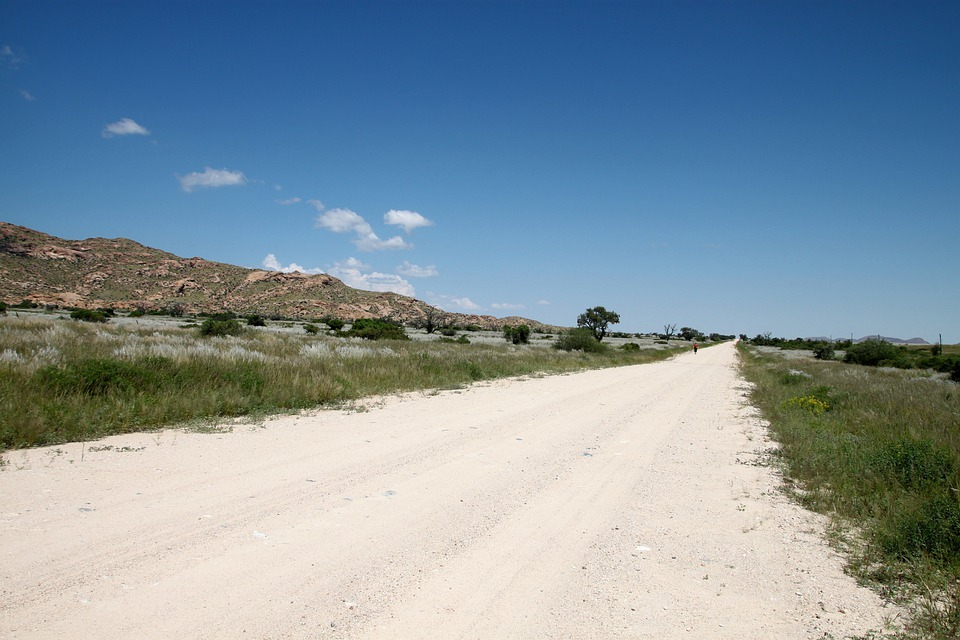 Dirt Road, Gravel Road, Lonely, Street, Hot, Distance