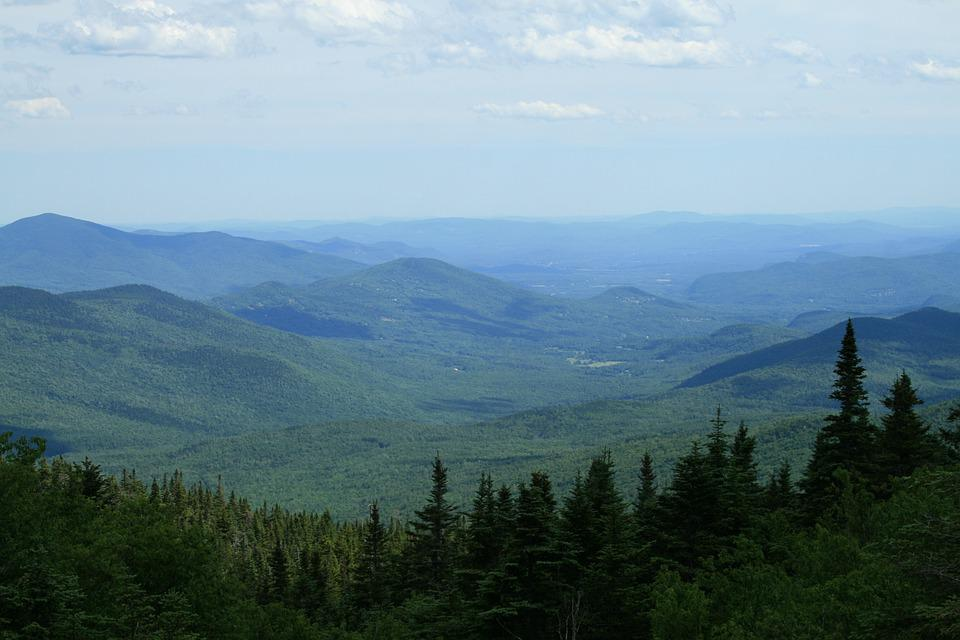 Mountains, Vermont, Distance