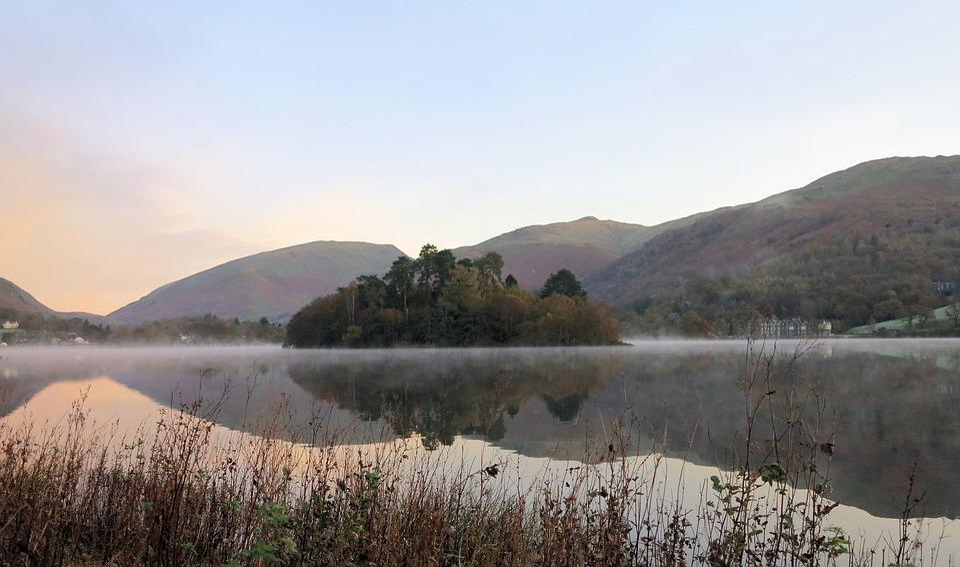 Grasmere, Lake, Cumbria, District, Countryside
