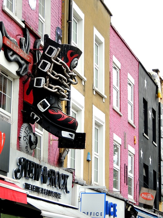 Camden Town, District, London, England, City, Famous