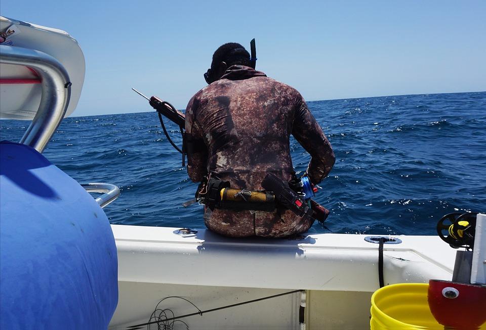Marine, Recon Marine, Spearfish, Freediver, Diver