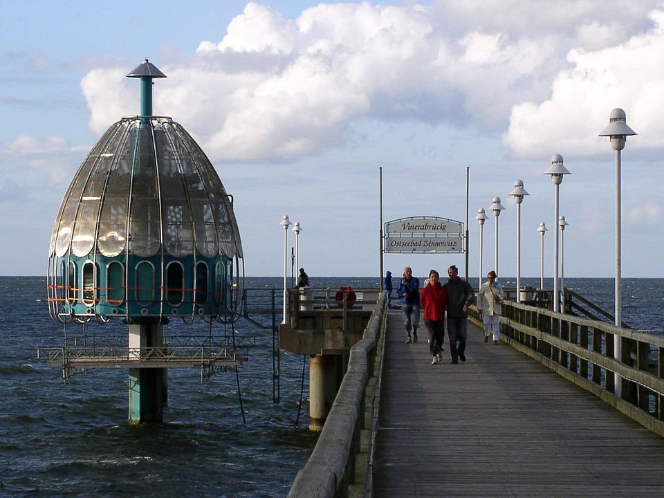 Zinnowitz, Diving Bell, Baltic Sea World