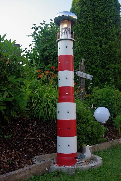 lighthouse garden model hobby diy light beacon - Garden Lighthouse