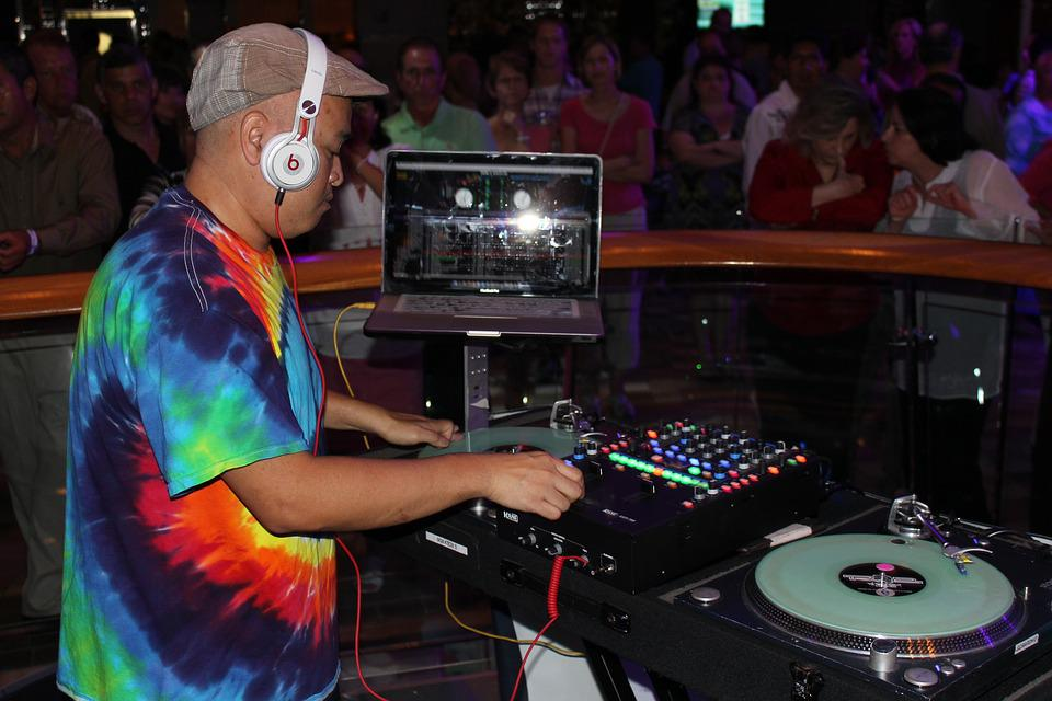 Dj, Music, Cruise, Entertainment, Disco, Event