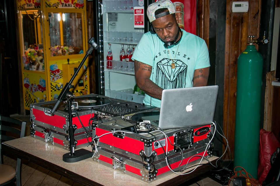 Dj, Black, Male African American, Music, Vinyl
