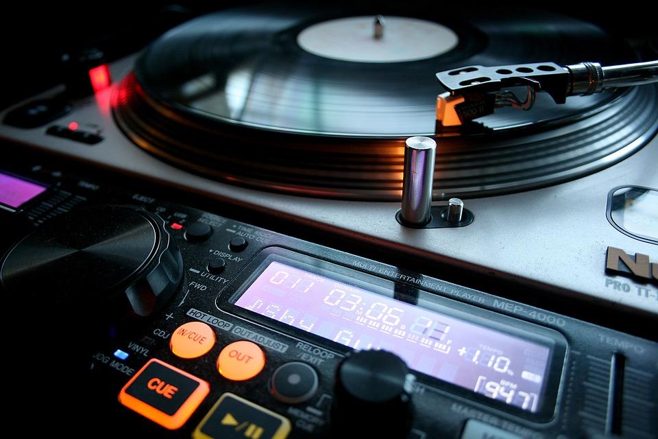Vinyl, Dj, Music, Turntable, Audio, Sound, Party, Retro