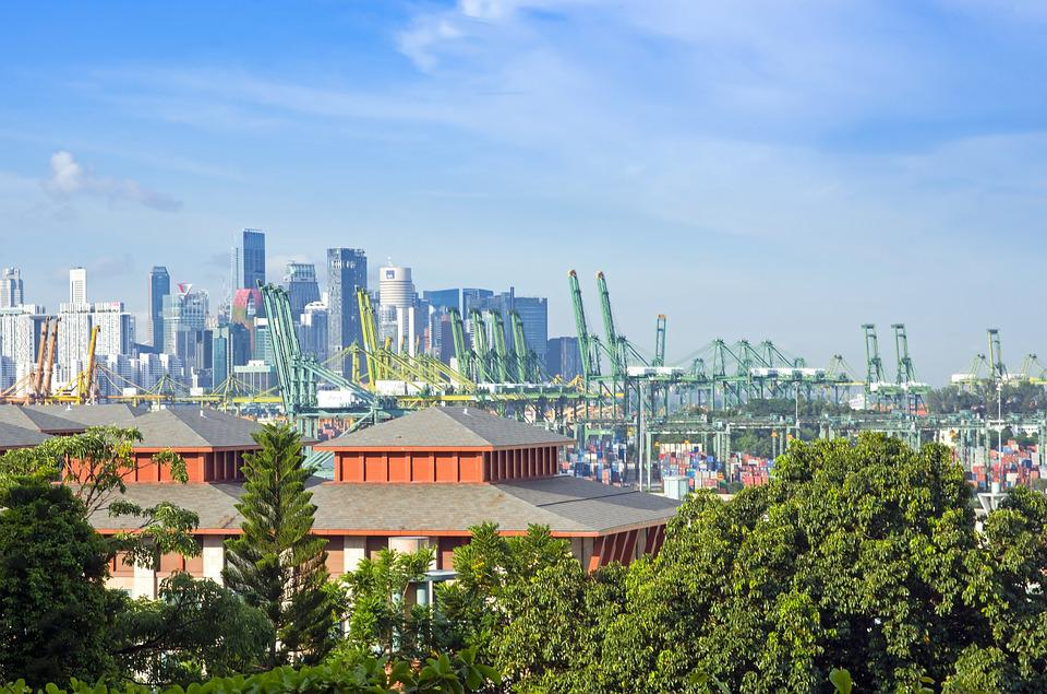 Port, Singapore, Maritime, Asia, Import, Freight, Dock