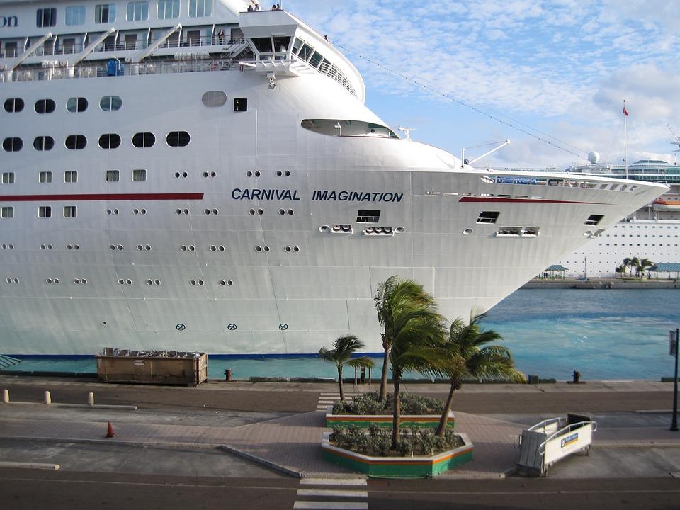 Cruise Ship, Ship, Sail, Sailing, Sea, Ocean, Dock