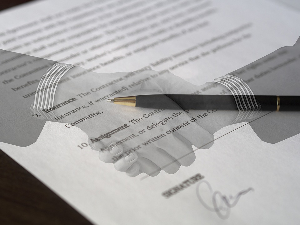 Contract, Agreement, Signature, Document, Deal