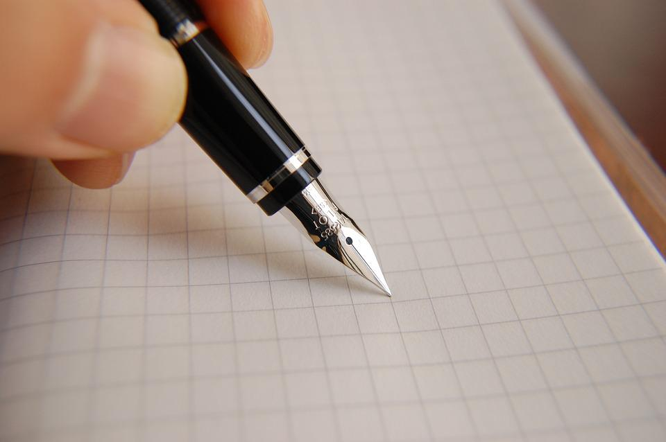 Fountain Pen, Ink, Pen, Business, Document, Writing