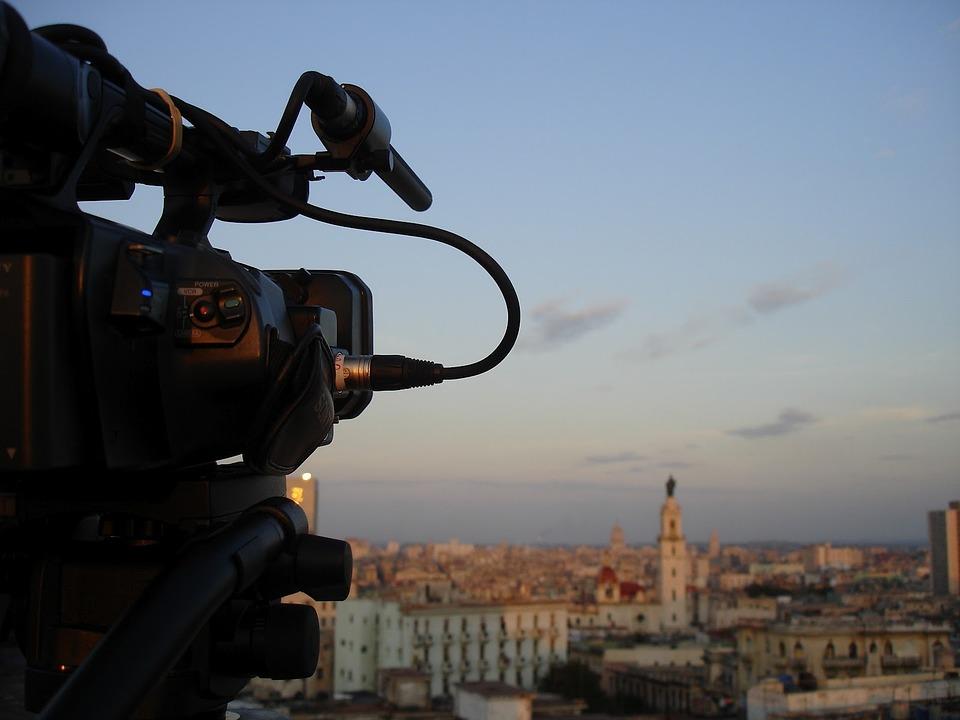 Shooting, Cinema, Camcorder, Cuba, Havana, Documentary