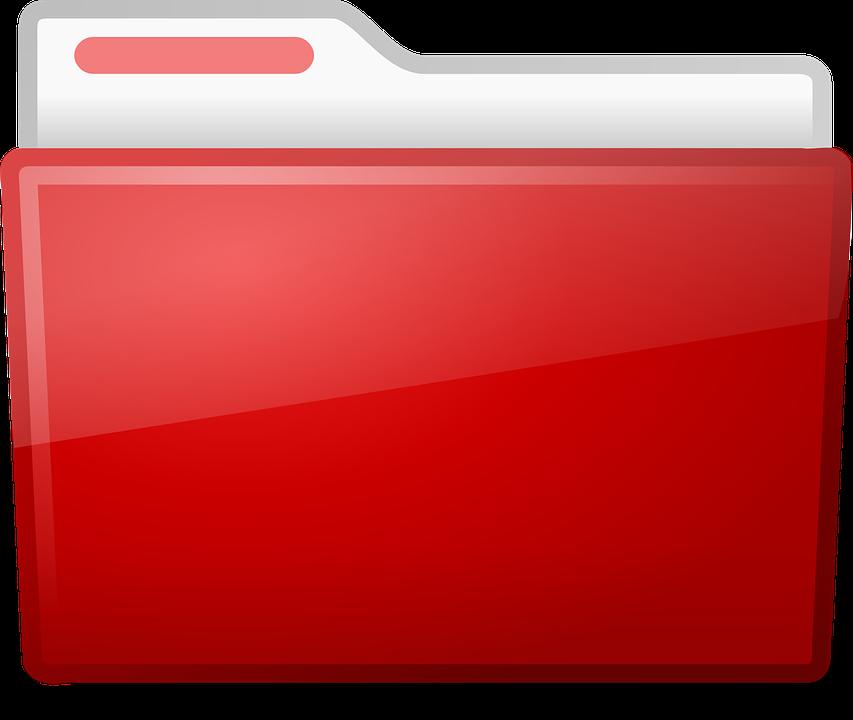 Folder, Directory, Red, Ubuntu, Files, Documents, Open