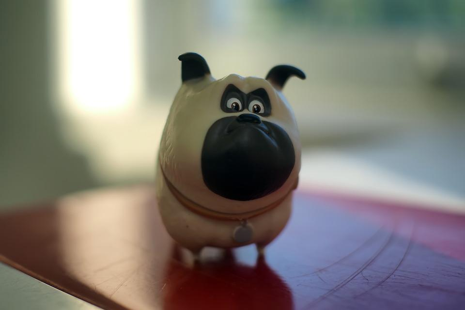 Dog, Small, Cute, Toy, Figurine, Animal, Anime, Cartoon