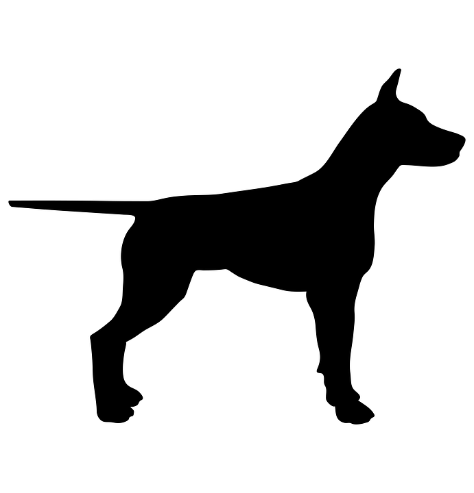 Dog, Animal, Silhouette, Pet, Black, Design, Symbol