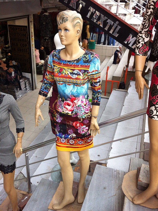 Doll, Schaufensterpuppte, Fashion, Dress, Woman
