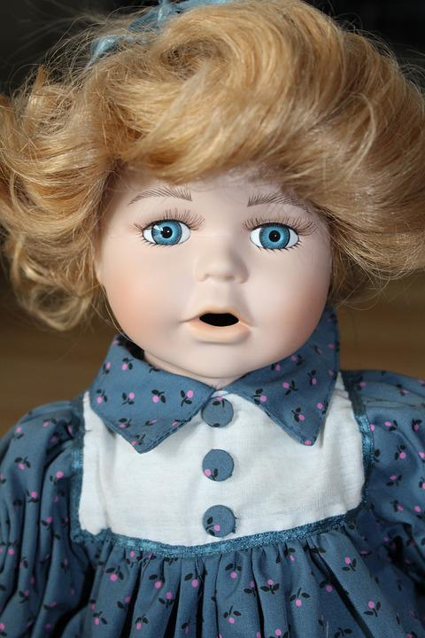 Doll, Fig, Girl, Toys, Puppet Show, Eyes, Face