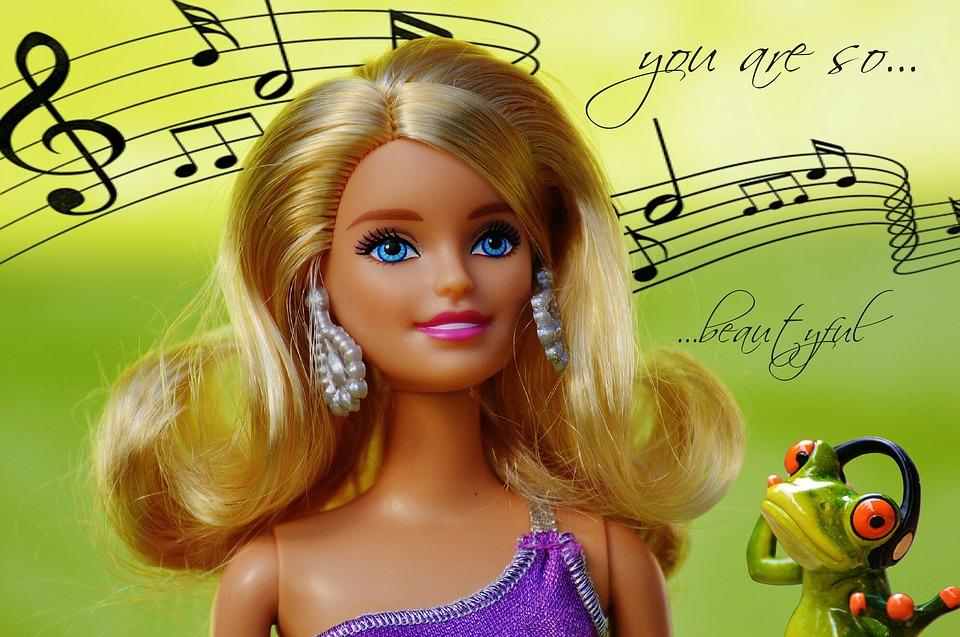 Beauty, Barbie, Love, Music, Doll, Charming