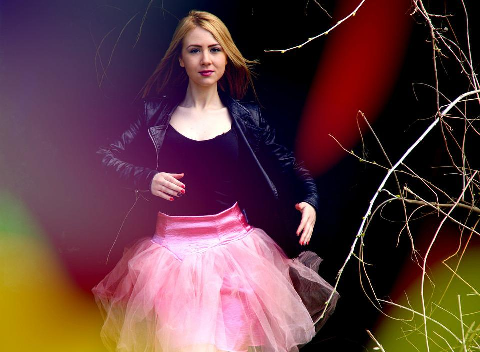 Ballerina, Doll, Pink, Blond