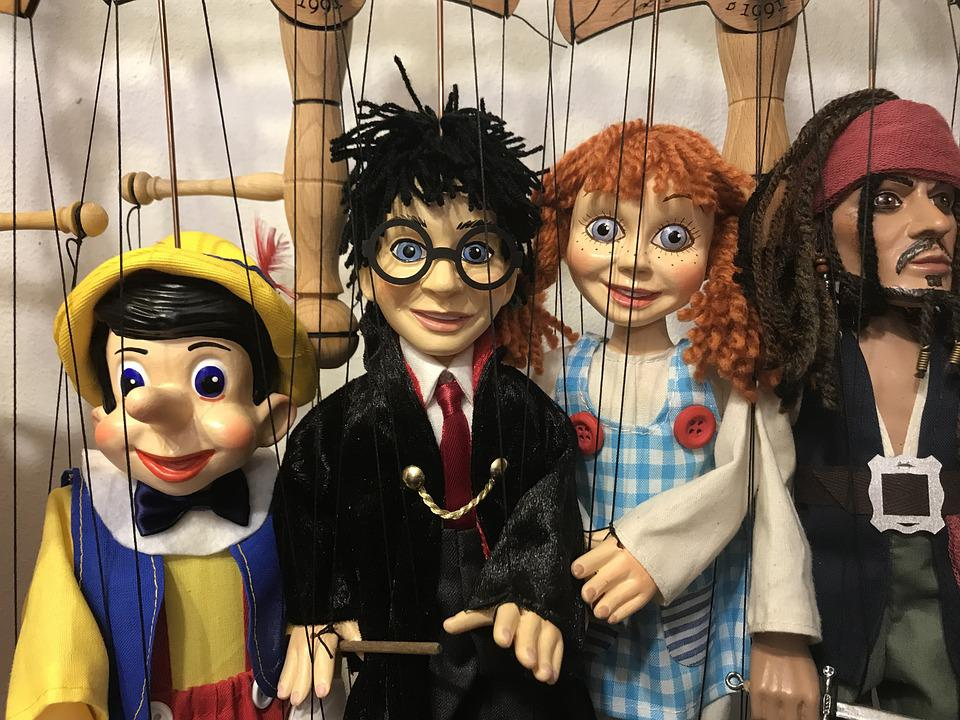 Harry Potter, Doll, Puppet Theatre, Portrait, Woman