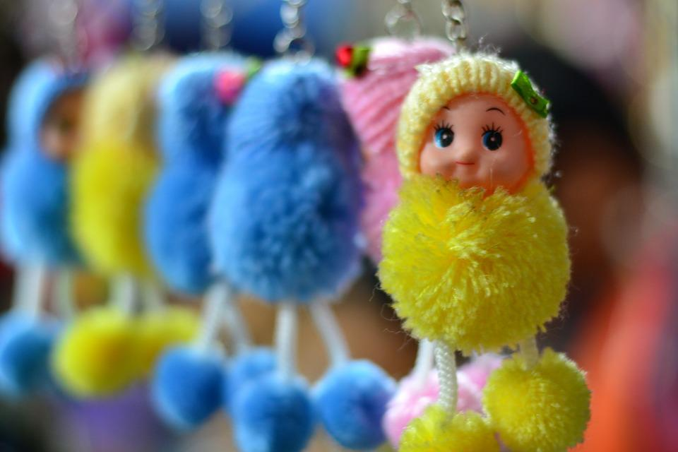 Doll, Key Chain, Cute, Toy, Gift, Handy, Craft, Puppet