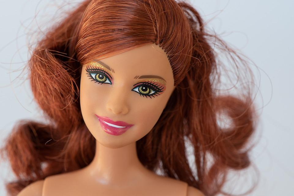 Doll, Doll Face, Red Head, Barbie, Toys, Figure