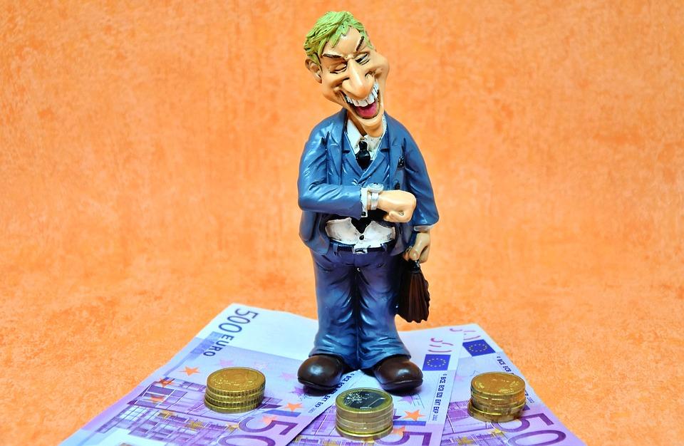 Money, Wealth, 500, Euro, Currency, Dollar Bill, Figure