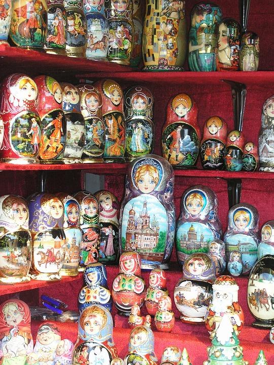 Mamoeschka, Russia, Dolls