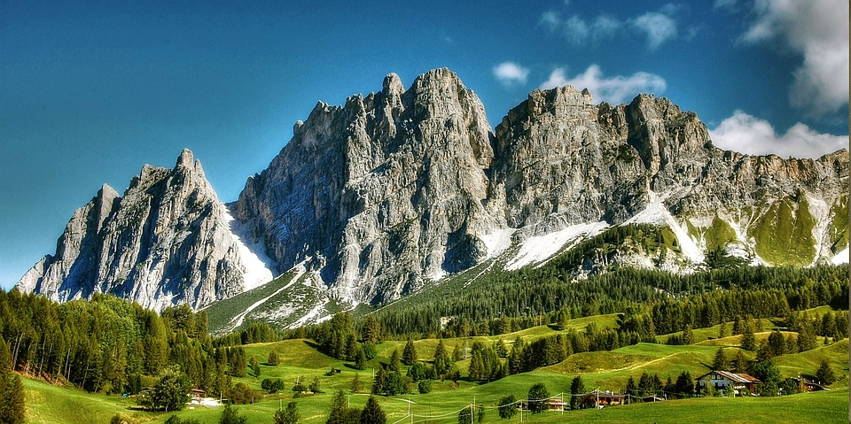 Dolomites, Cortina D'ampezzo, Italy, Alpine, Belluno