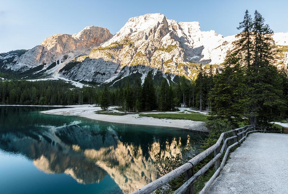 Lake, Nature Park, Dolomites, Mountain Lake, Alpine