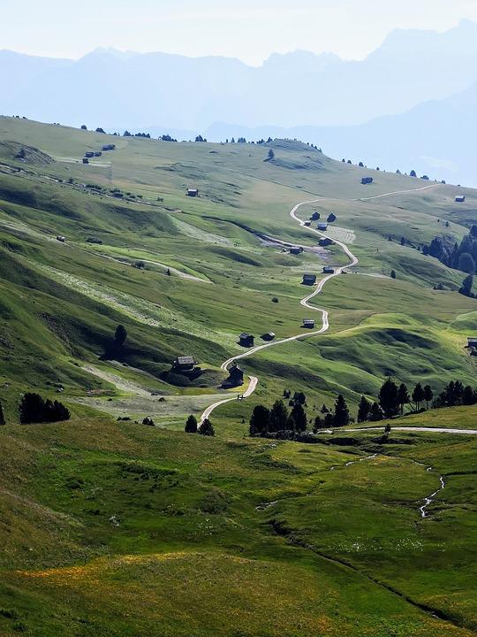 Mountain, Landscape, Alps, Dolomites, Mountains, Nature