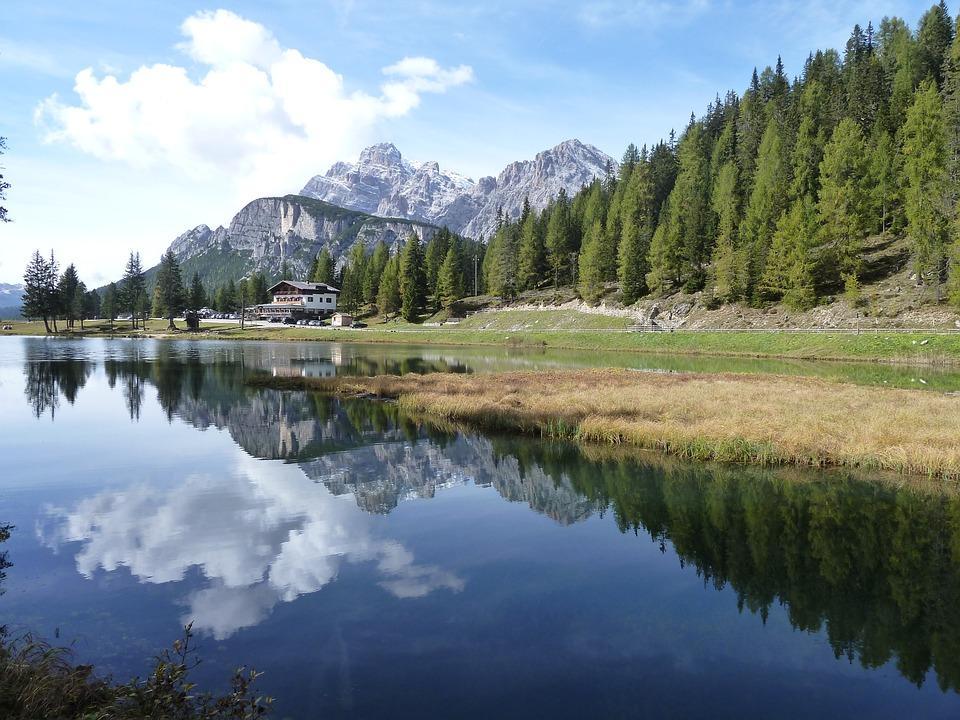Lake Antorno, Misurina, Auronzo Di Cadore, Dolomites