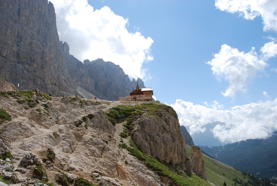 Mountain, Mountains, Dolomites, Italy, Hiking, Trekking