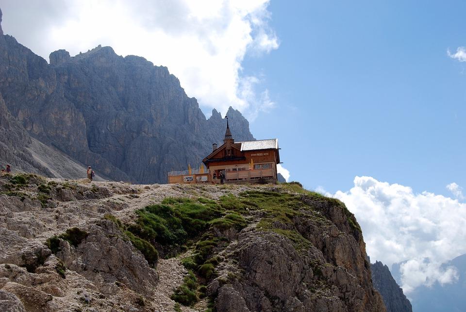 Mountains, Dolomites, Italy, Hiking, Trekking, Vajolet
