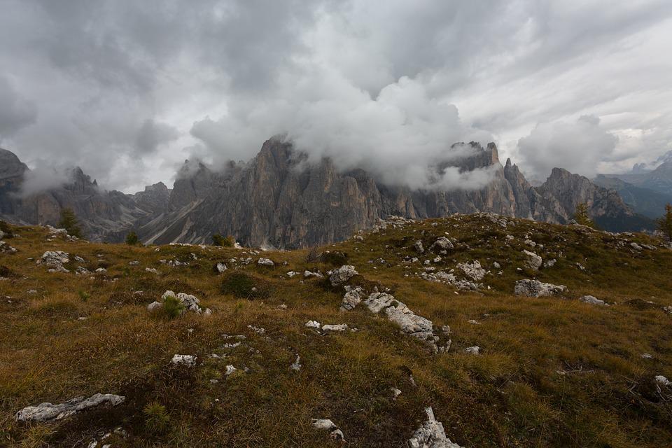 Mountains, Trentino, Dolomites, Landscape, Sky