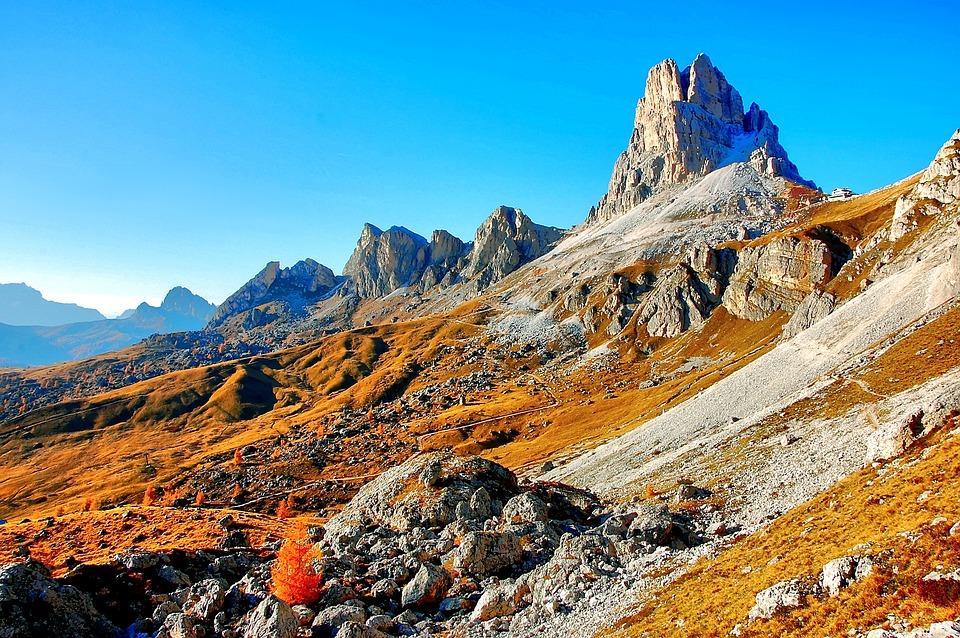 Monte Averau, Dolomites, Mountain Group, Italy